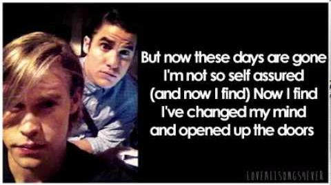 Glee - Help! (Lyrics)