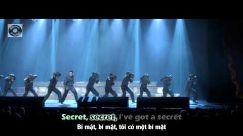 "Lyrics Vietsub GLEE - Mr. Roboto Counting Stars from ""City Of Angels"""