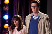 14 Rachel und Finn in The Rocky Horror Glee Show