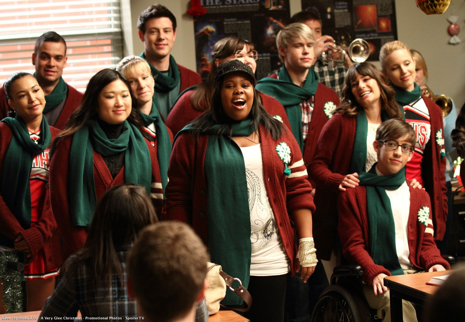 Image result for glee tv show christmas