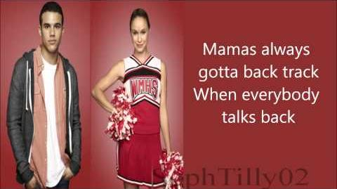 Glee - Everybody Talks (Lyrics)