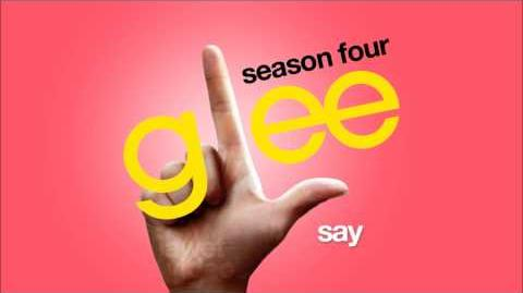 Say - Glee Cast HD FULL STUDIO