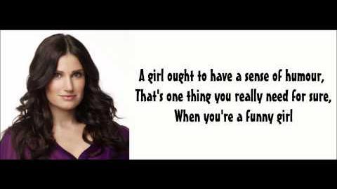 Funny Girl - Glee Lyrics