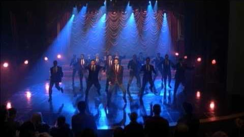 """GLEE - Full Performance of """"Glad You Came"""" airing TUE 2 21"""
