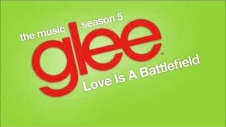 Love Is A Battlefield (Glee Cast Version)-0