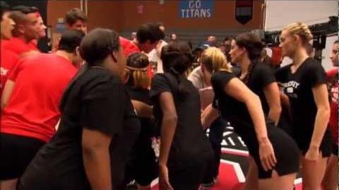 Glee Behind the Scenes - Dodgeball War!