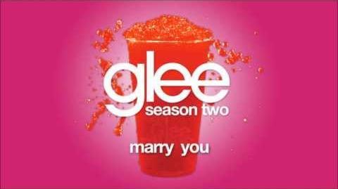 Marry You Glee HD FULL STUDIO