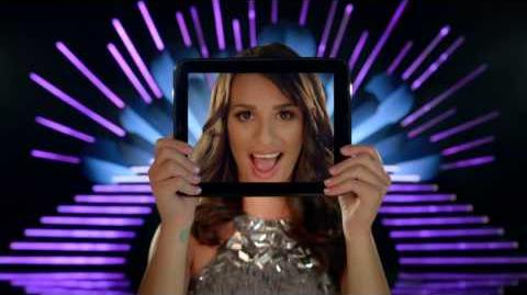 HP TOUCHPAD COMMERCIAL LEA MICHELE