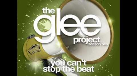 The Glee Project - You Can't Stop The Beat (LYRICS)