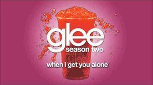 When I Get You Alone Glee HD FULL STUDIO