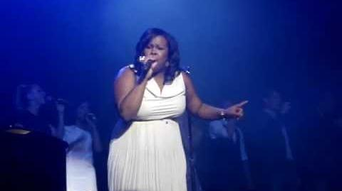 Amber Riley and GLEE Cast- I Am Beautiful Part 2