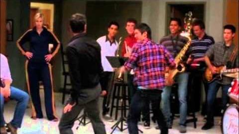 Glee-Whatever Happened To Saturday Night (Full Performance)