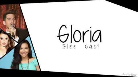 Glee - GLORIA - Lyric Video-0
