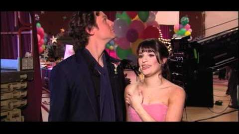 Glee 2x20 Behind The Scenes - PROM QUEEN - HD