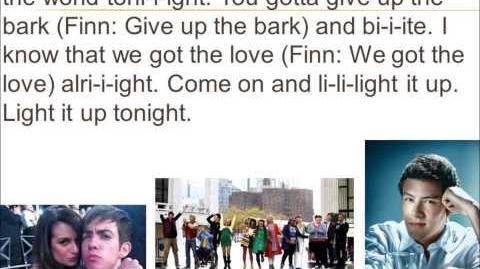 Light Up The World Glee Lyrics