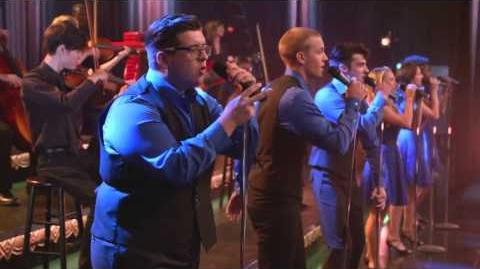GLEE Full Performance of Father Figure from The Hurt Locker, Part 2