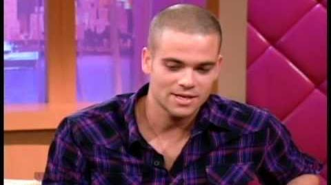 Mark Salling on The Wendy Williams Show 11-2-2009