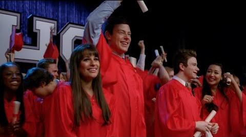 GLEE - Glory Days (Full Performance) Graduation HD