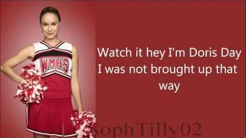 Glee - Look At Me I'm Sandra Dee (Lyrics)