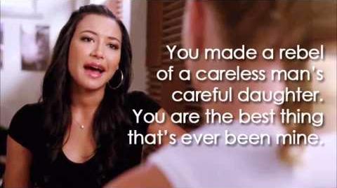 Glee - Mine (Lyrics)-0