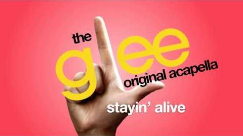Glee - Stayin' Alive - Acapella Version