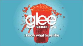 I Know What Boys Like Glee HD FULL STUDIO