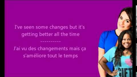 Glee - I melt with you Paroles & Traduction