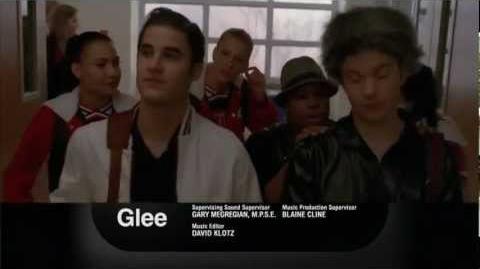 Glee 3x11 Michael Promo