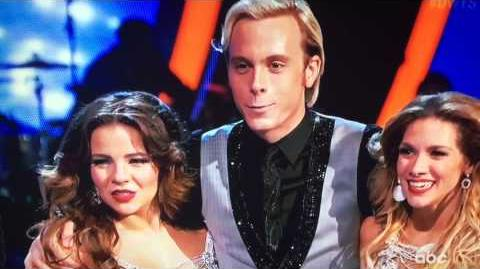 Riker Lynch and Allison Holker - Week 9 - Jazz Trio with Brittany Cherry