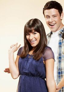 when did finn and rachel start dating in real life