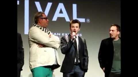 Chris Colfer Q&A @TriBeCa Film Festival 21 04 2012 (sub Ita)