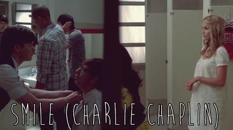 "GLEE - Full Performance of ""Smile"" (Charlie Chaplin Cover)"