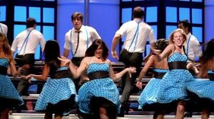 GLEE - Rehab (Full Performance) HD