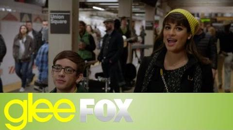 "GLEE ""Don't Sleep in the Subway"" Official Performance"