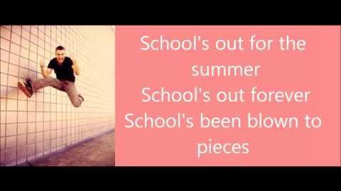 Glee - School's out Lyrics