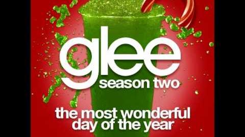 Glee - The Most Wonderful Day Of The Year (DOWNLOAD MP3 LYRICS)