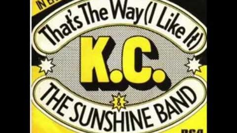 "KC AND THE SUNSHINE BAND. ""That's The Way (I Like It)"". 1975. original long version"