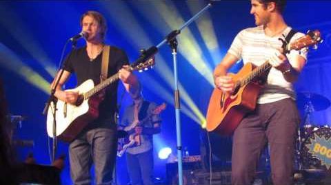 Darren Criss and Chord Overstreet - Heroes - Nashville (6 6 13)