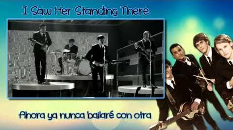 Glee - I Saw Her Standing There Sub Esp Vídeo
