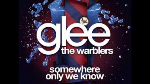 Glee - Somewhere Only We Know (Acapella)