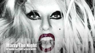 Lady GaGa - Marry The Night (Acapella Version)-0