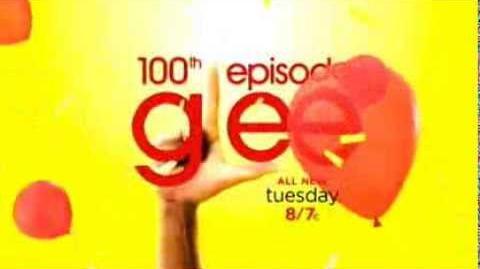 Glee -100th Promo 2