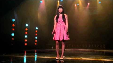 """GLEE - Full Performance of """"Because You Loved Me"""""""