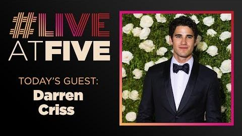 Broadway.com LiveatFive with Darren Criss