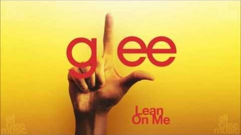 Lean On Me Glee HD FULL STUDIO