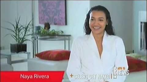 E! News talks about Naya Rivera's Allure (Nude) Photoshoot (HQ)
