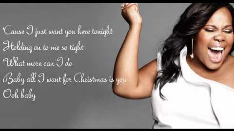 All I Want For Christmas (is you) - glee cast