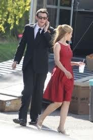 Image - Cory and Dianna On Set of Furt jpeg | Glee TV Show