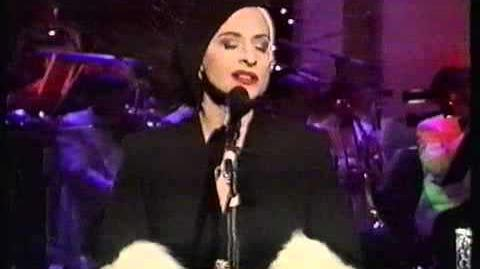 Patti Lupone as if we never said goodbye