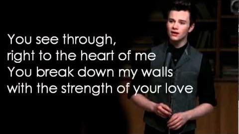 Glee - I Have Nothing (Lyrics)